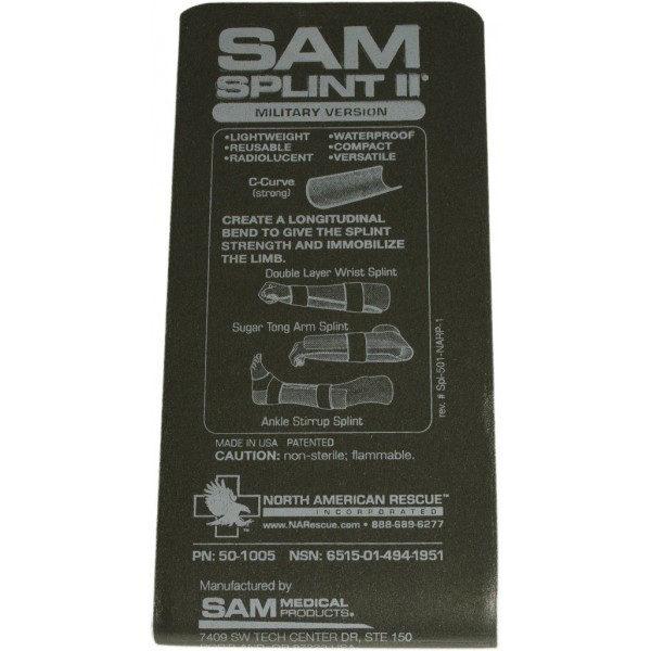 Тактична шина SAM Splint 92см ОРИГІНАЛ США