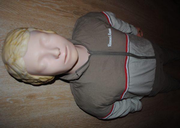 Манекен Laerdal Early Defibrilation (full body) ЕЛЕКТРОНІКА, ДЕФІБРИЛЯЦІЯ повний зріст Б/У