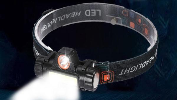 Налобний ліхтар LED 2043
