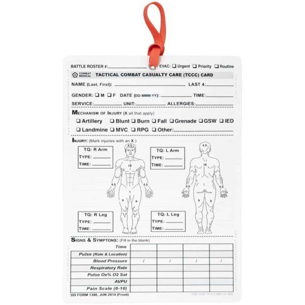 Сортувальний талон пластиковий TCCC Card DD 1380